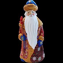 Russian Santa/Father Christmas With Long Beard