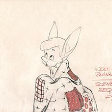 Pinocchio Pencil Drawing by Walt Disney Studios