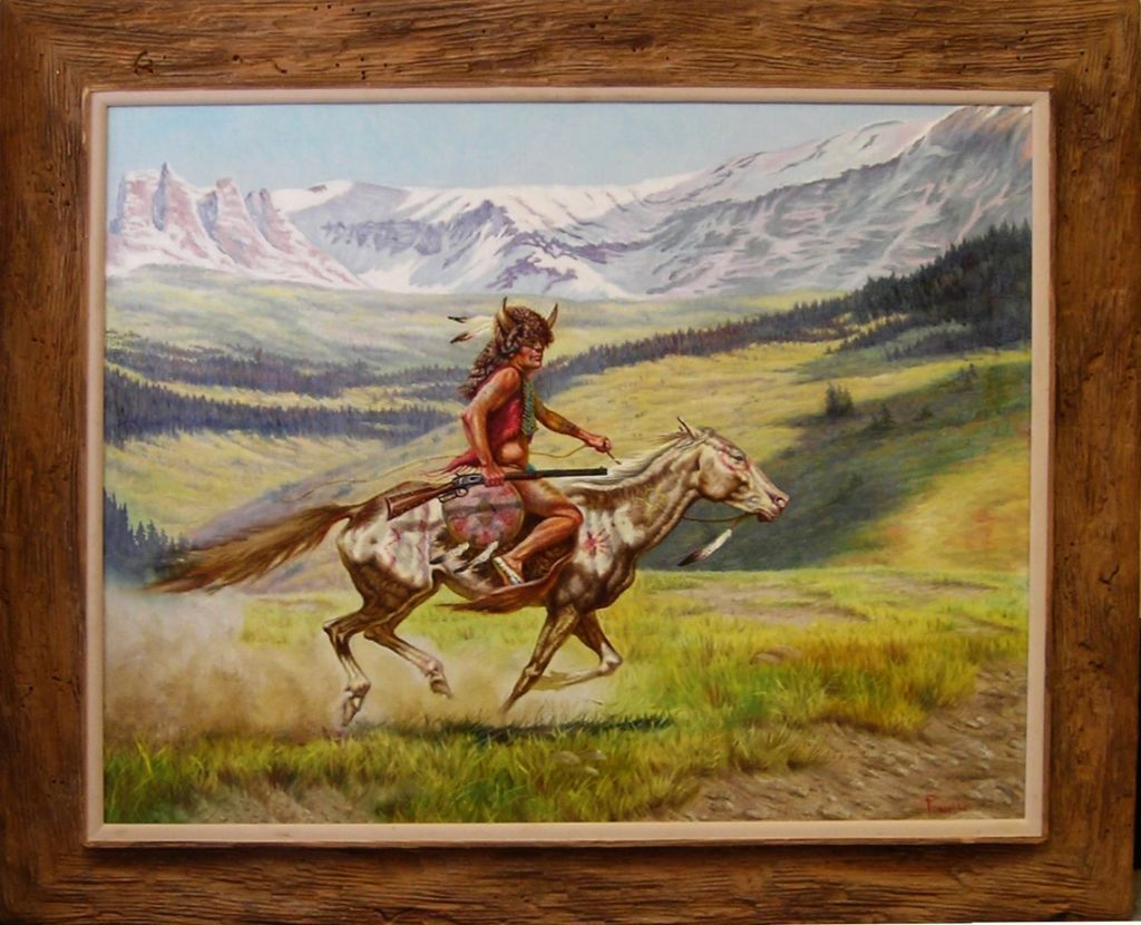 American indian art paintings best painting 2018 for Best mural artists