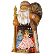 Russian Father Christmas With Cinderella Design - Red Tag Sale Item
