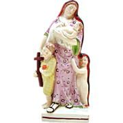 Charity,  Staffordshire Antique Figurine