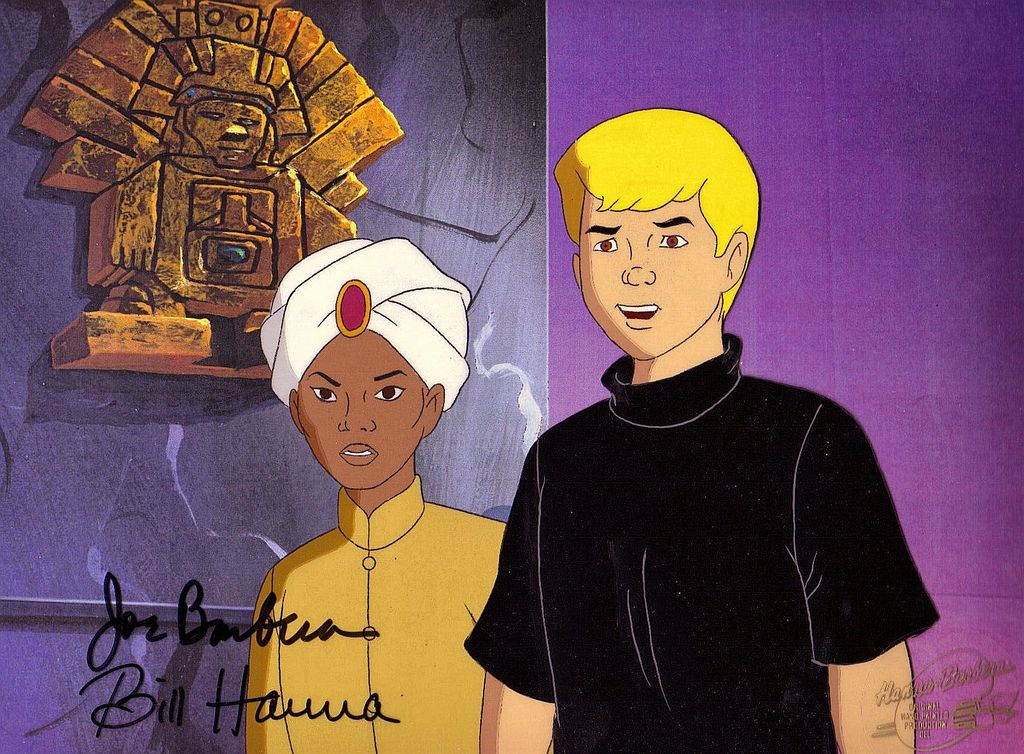 Jonny & Hadji  Production Animation Cel by Hanna-Barbera