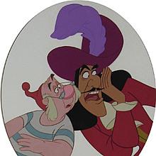 Walt Disney - Hook & Smee - Limited Edition Cel - Signed