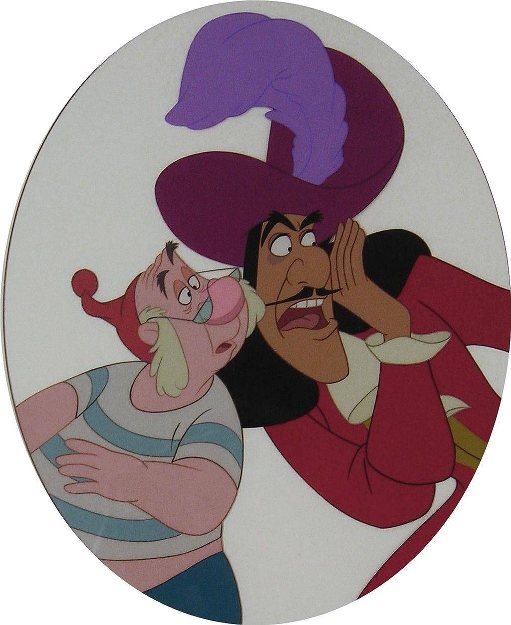 Uncategorized Hook And Smee walt disney hook smee limited edition cel signed from signed