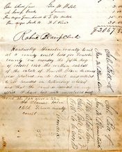 Bill of Sale, Slaves for Lincoln County, Kentucky Estate, Circa 1845-1846