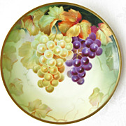 Sevres Bavaria Hand Painted Artist Signed F. Thomas Decorative Plate - Red Tag Sale Item