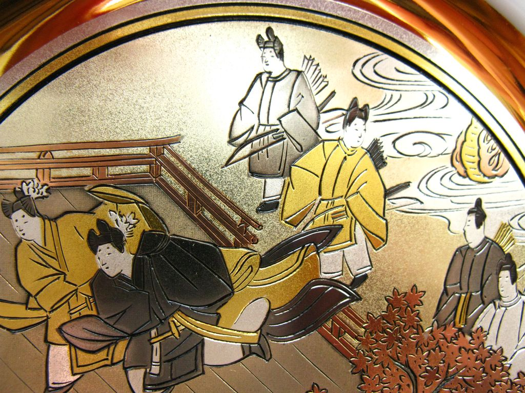 Tale Of Genji Chokin Collector Plate Limited Edition From