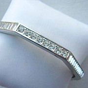 GIVENCHY Crystal Octagonal Bracelet
