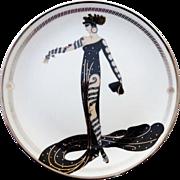 ERTE La Merveilleuse Collector Plate