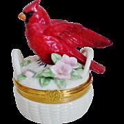 Lenox Cardinal Trinket Box
