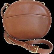 Vintage COACH USA Chester Canteen Bag, British Tan