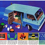 1964 Ad - GMC TRUCKS - 'Announcing the Handi-Van!'