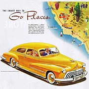 1948 Ad - OLDSMOBILE - 'The Smart Way to Go Places'