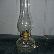 Kerosene Oil Finger Lamp - Dogtooth Pattern
