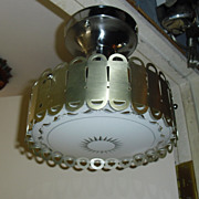 Mid-modern Flush Mount Ceiling Light Fixture - 2 available