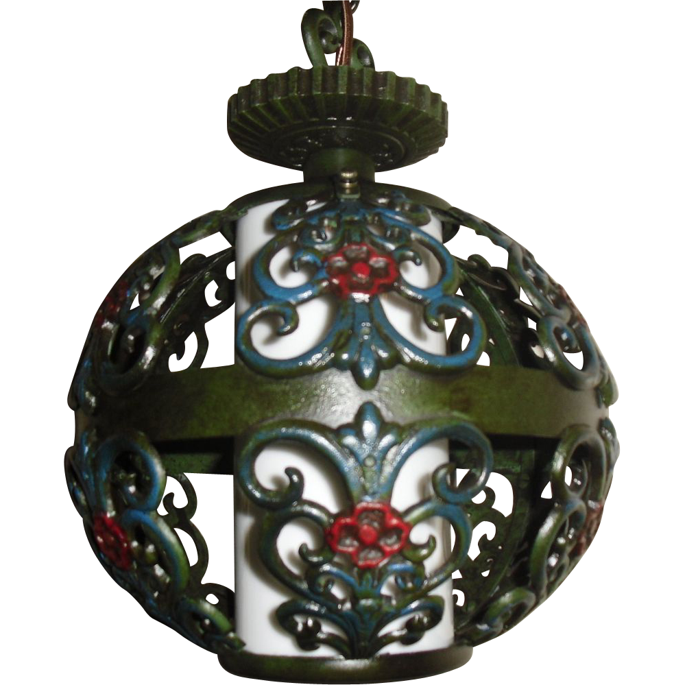 Spanish Revival Pendant Light Fixture