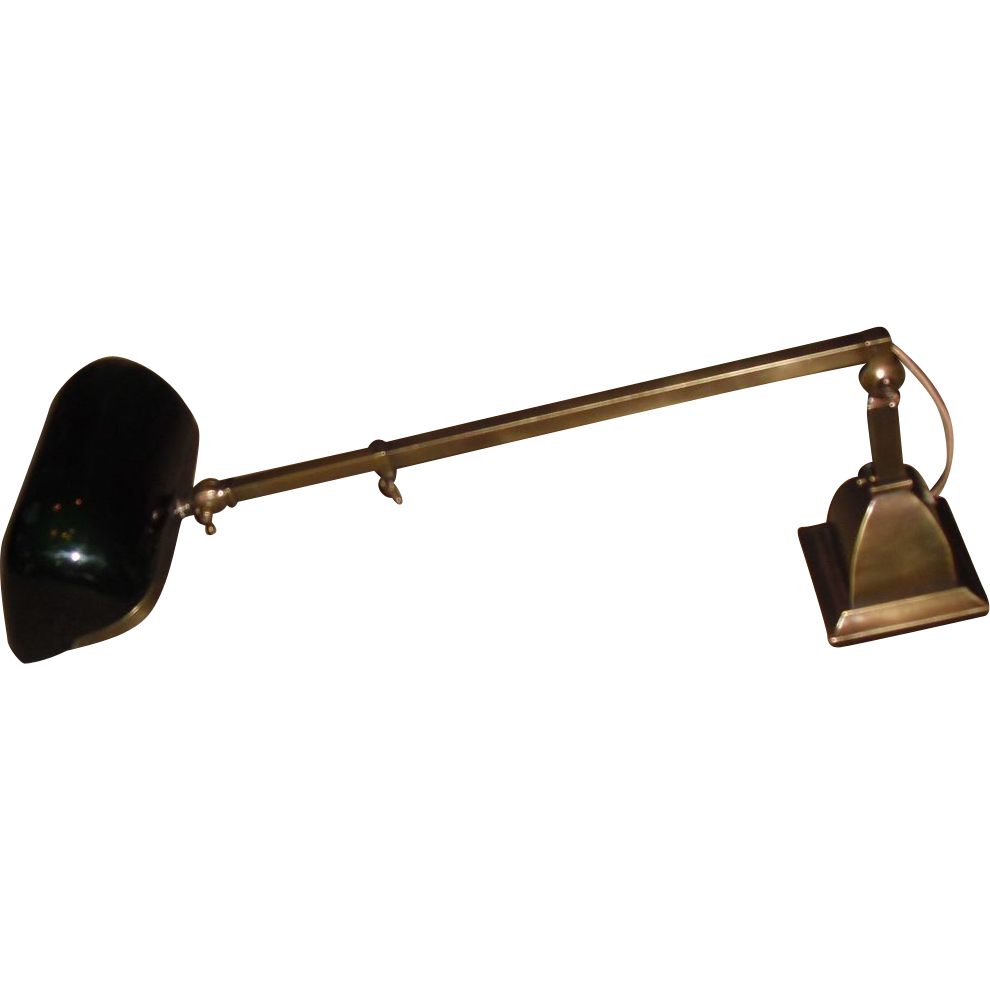 Emeralite Telescoping Desk Lamp or Wall Light from ...
