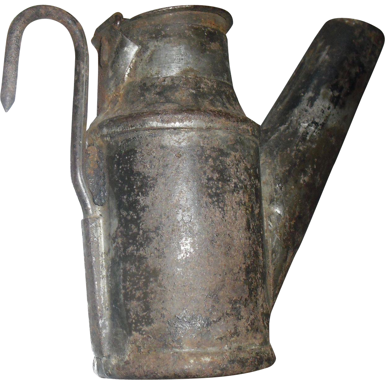 Miners Head or Hat Kerosene Oil Lamp