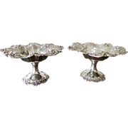 Pair 1949 Reed and Barton FRANCIS I Sterling Silver Footed Compotes X568