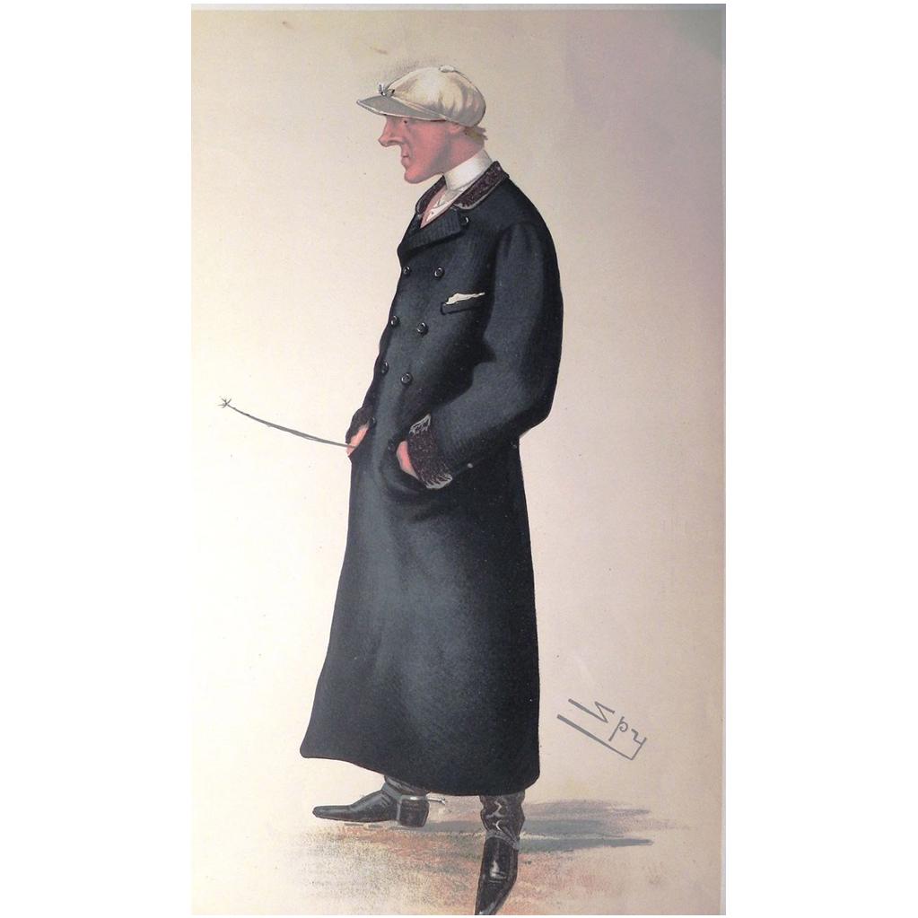 Original 1884 Vanity Fair Jockey Print ~ JOCKEY ~ Arthur Coventry