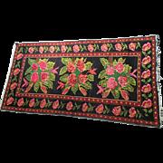 Vintage Mid-Century Armenian Karabagh Rug
