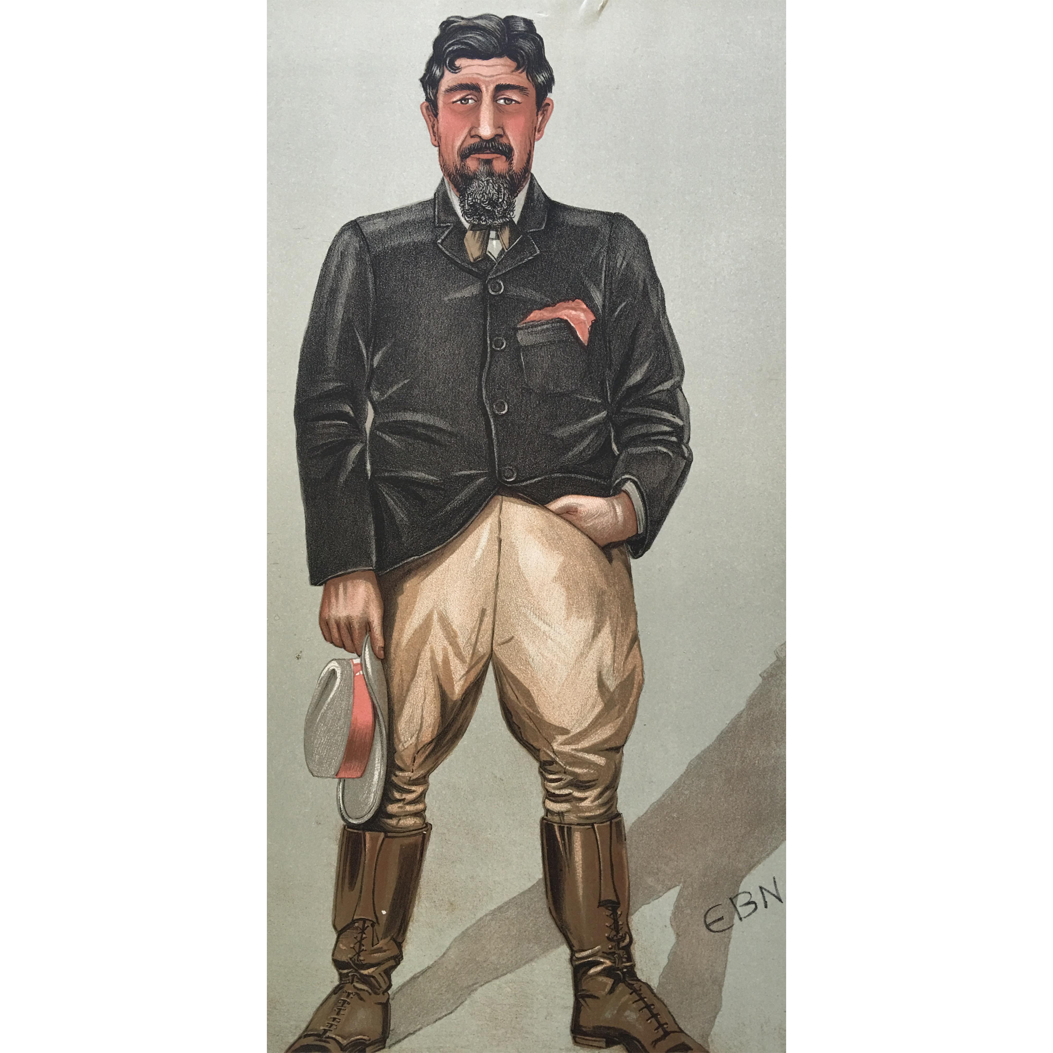1902 Original Vanity Fair Print - Boer War / Big Game Hunter - General Christian De Wet