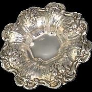 1950 Reed and Barton Francis I Sterling Silver Bon Bon Dish X569
