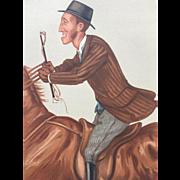 Original  1877 Vanity Fair SPORT RIDER  Print ~ James Lowther