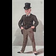 Original 1887 Vanity Fair Print ~ Sir Joseph Whitwell Pease