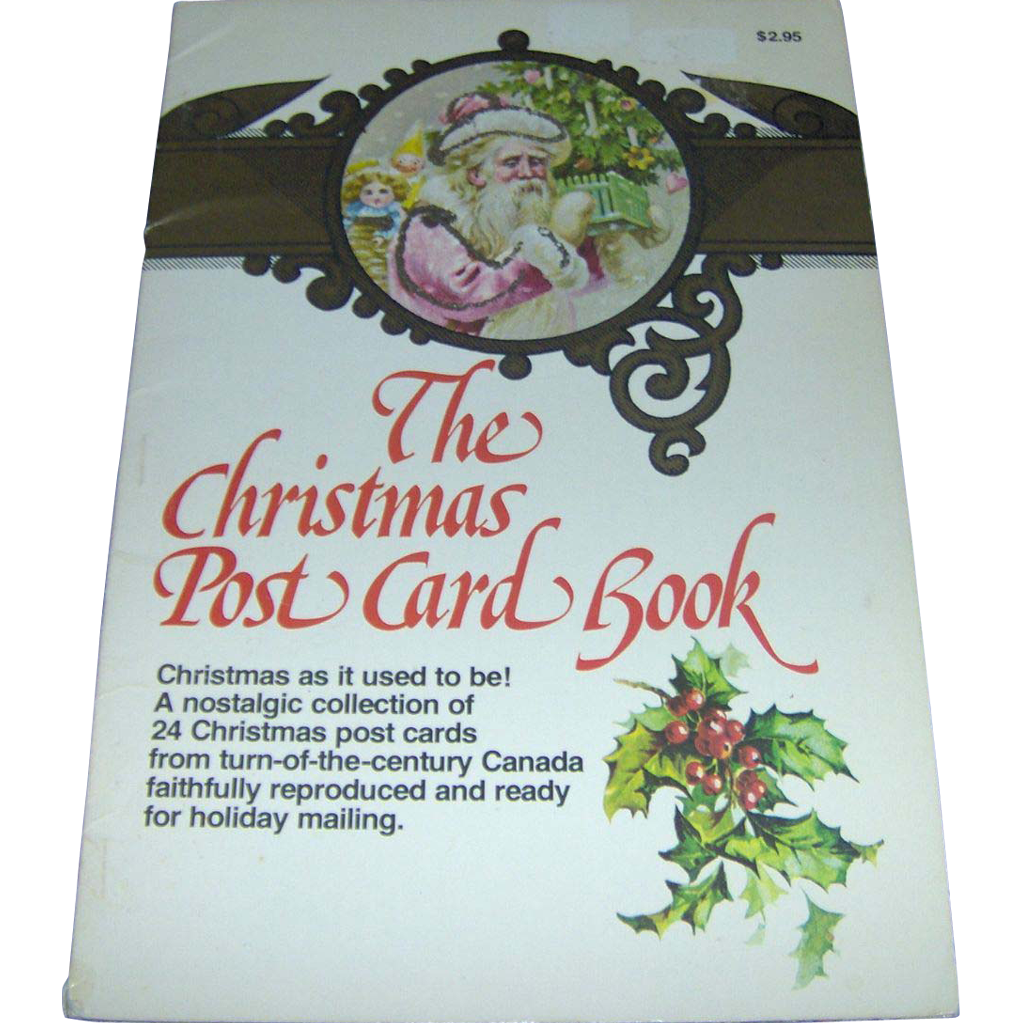 The Christmas Post Card Book