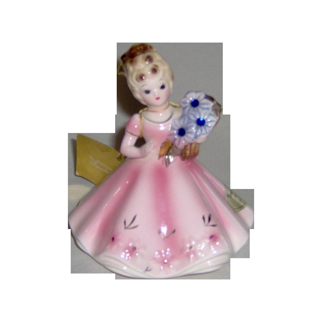 Vintage Josef Originals September Figurine