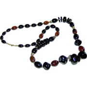 Trifari beaded necklace