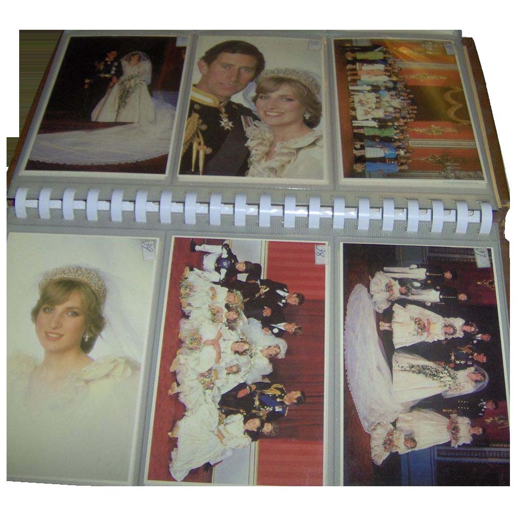 Postcard Album - Royal Wedding 1981
