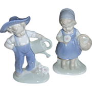 Vintage Dutch Boy and Girl Figurines