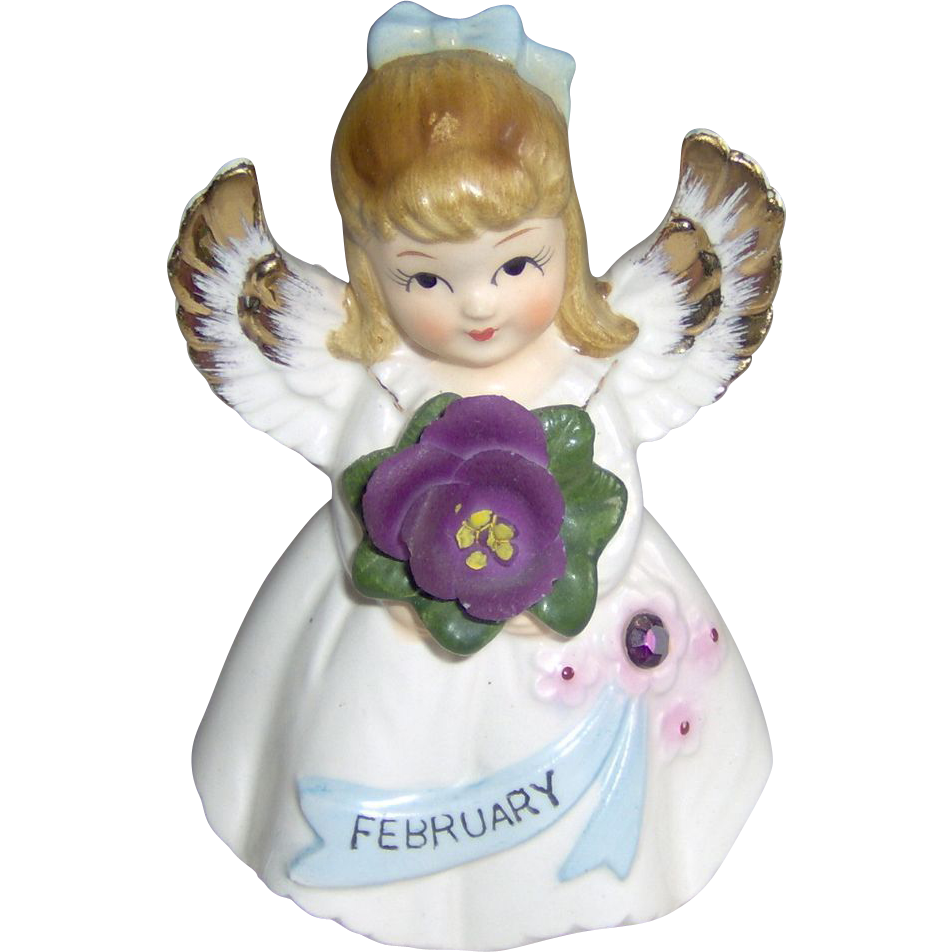 February Angel Girl
