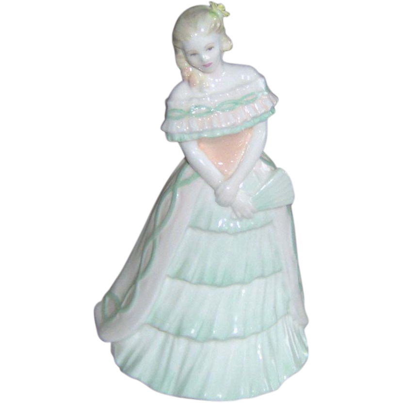 Vintage Coalport Figurine Party Time