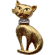 Adorable Cat Brooch
