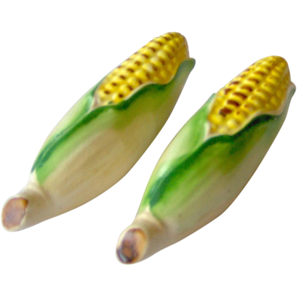 Corn on the Cob Salt and Pepper Shakers