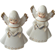 Pair of Singing Angels