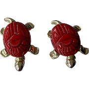 Vintage Pair of Turtle Scatter Pins