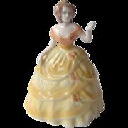 Vintage Coalport Mini Lady Figurine Josephine
