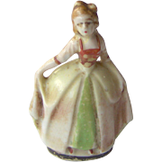 Vintage Occupied Japan Tiny Lady Figurine