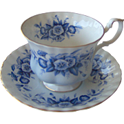 Royal Albert cup and saucer Melody Series - Rhapsody