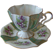 Beautiful cup and saucer Made In Japan