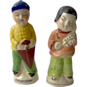 Chinese man and woman - Salt and pepper shakers