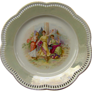 Schumann Bavaria reticulated plate