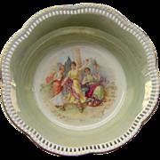 Vintage Schumann Bavaria reticulated bowl