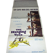 Movie Poster - The Hanging Tree - Gary Cooper