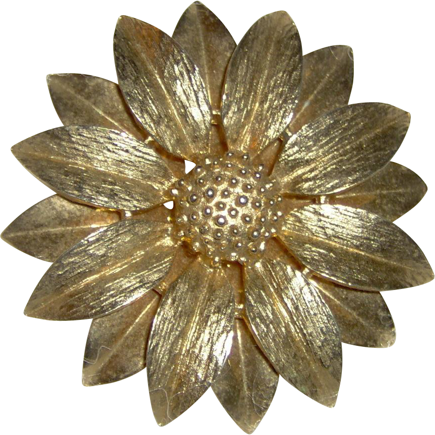 Brooch signed Sarah Coventry Canada