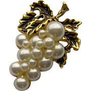 Bunch of Grapes Brooch